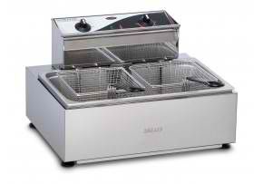 F111 - Roband Single Pan/Twin Basket Benchtop Fryer