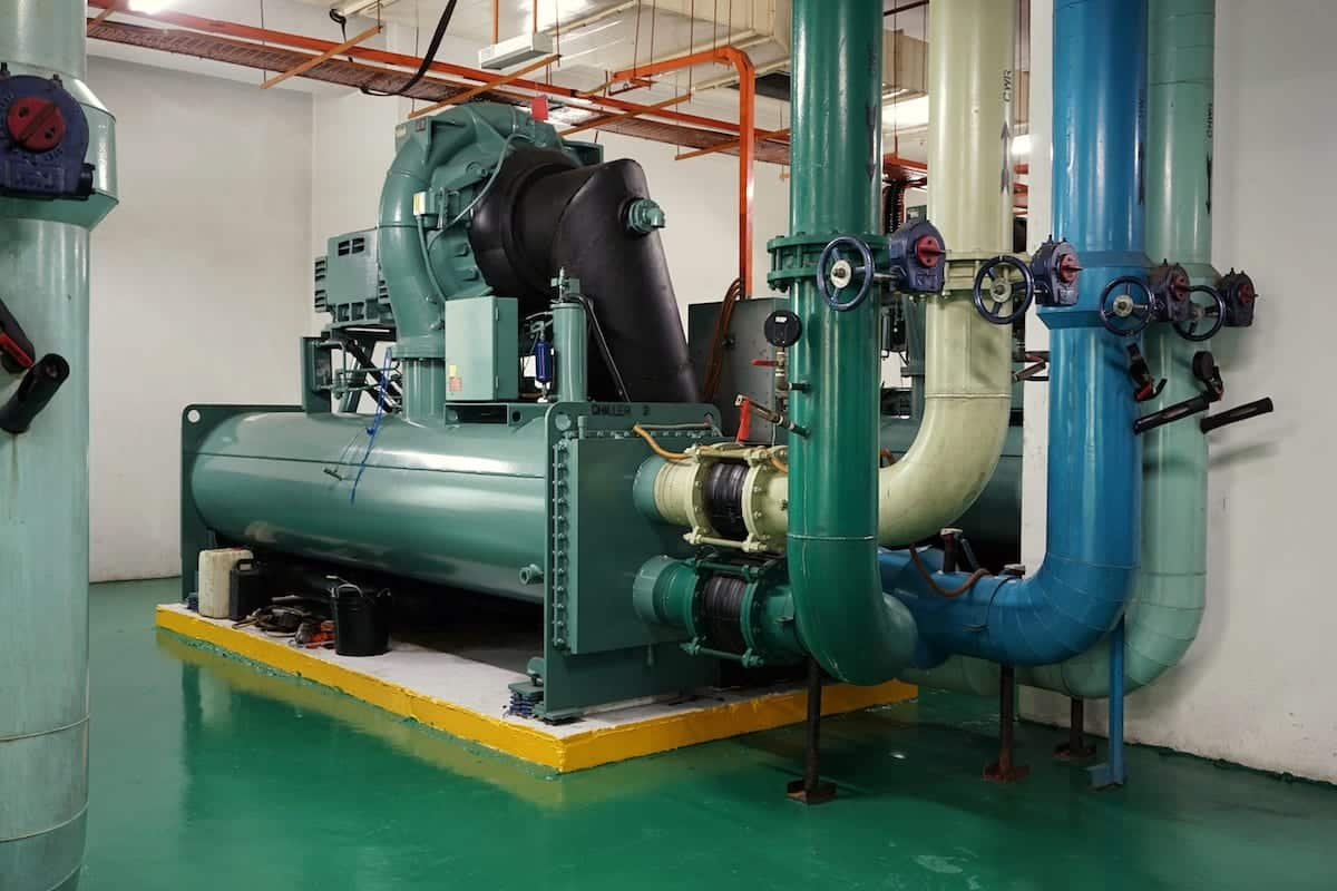 chilling cooling system, Water Cooled Chillers
