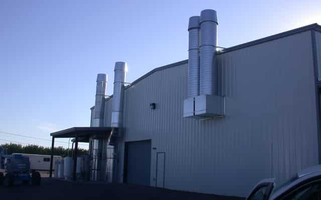 evaporative cooling in warehouse