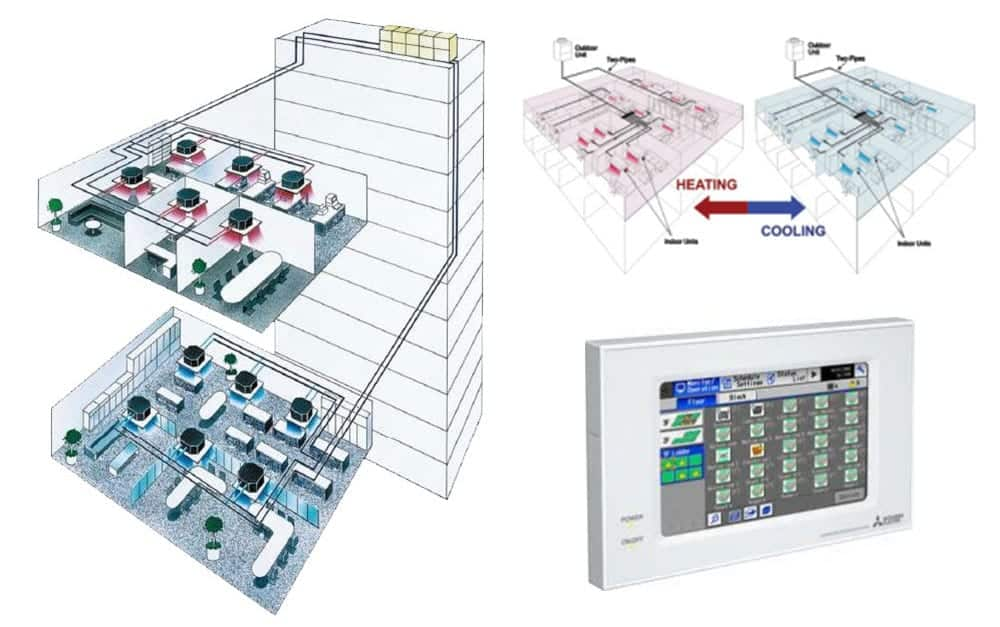 coles vrv and vrf air conditioning systems