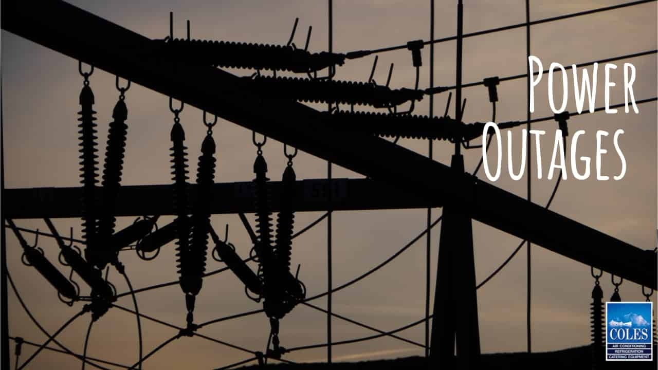 the hot weather can lead to power outages