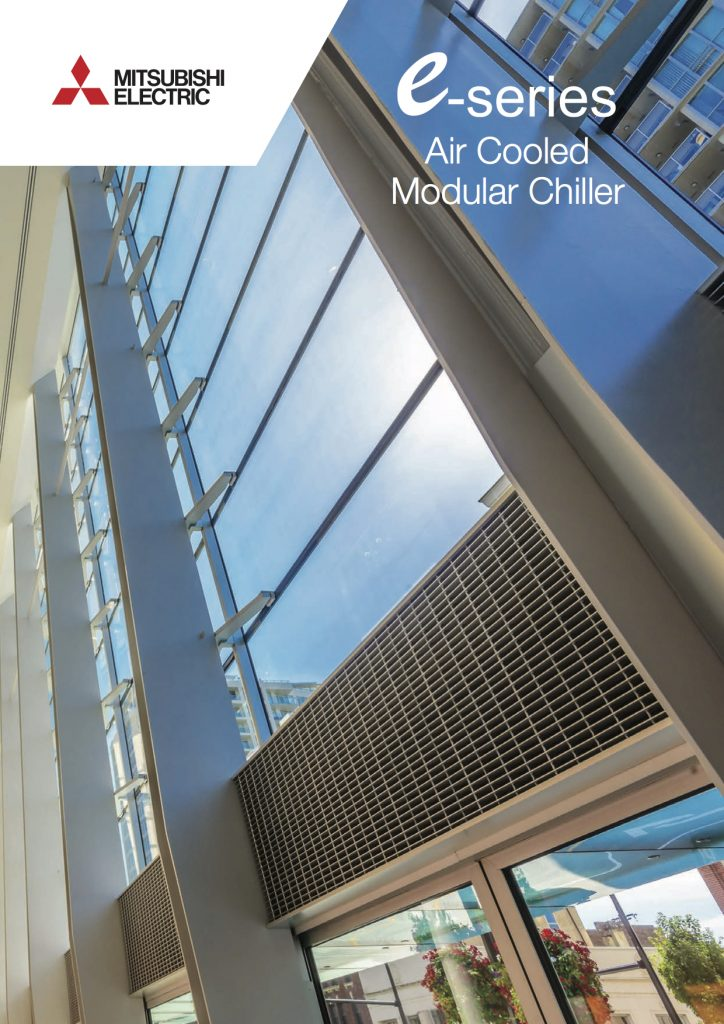Mitsubishi Electric Brochures, air conditioning, Refrigeration, Commercial Catering Equipment