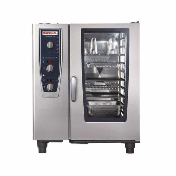CMP101G-NG Rational CombiMaster Plus, 10 Tray Natural Gas Oven