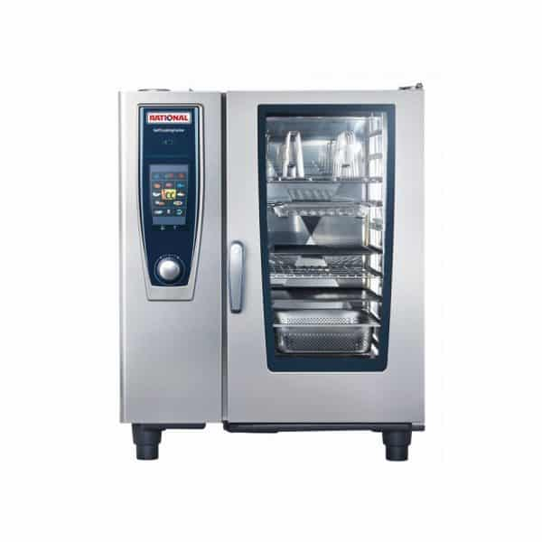 SCC5S101G-NG Rational 10 Tray Natural Gas Combi Oven