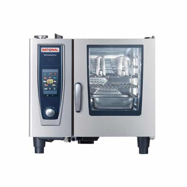 SCC5S61G-NG Rational 6 Tray Gas Combi Oven