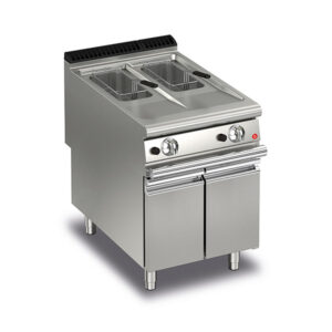 Baron Q90FRI/G610 10+10L Split Pot Gas Deep Fryer