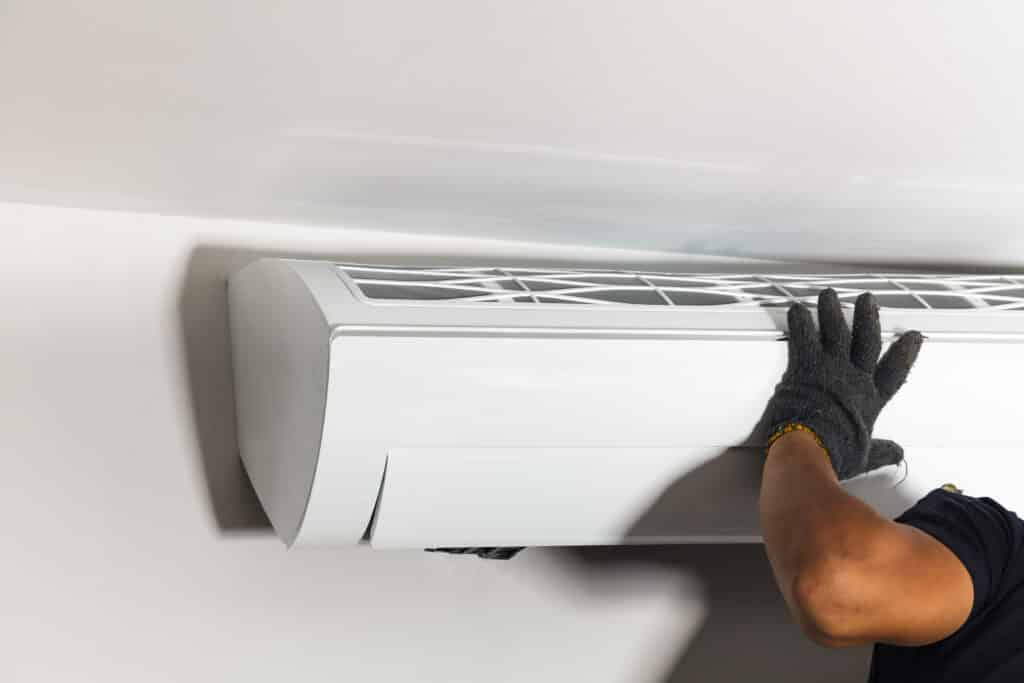 Are you installing the air conditioner into new build, or an existing home?
